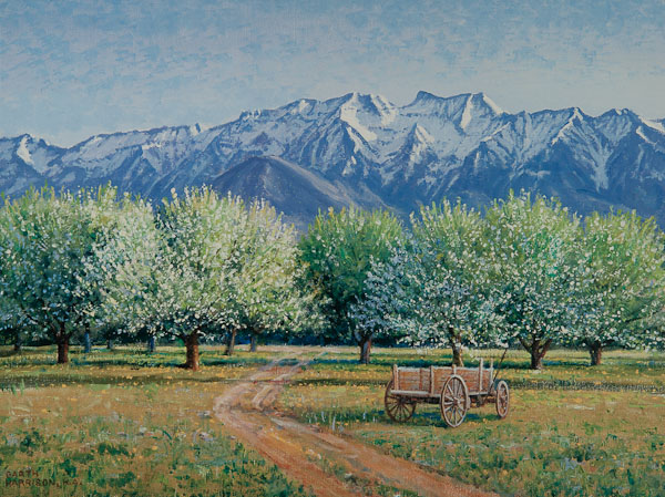 """Apples in Abundance"" by Garth Harrison"
