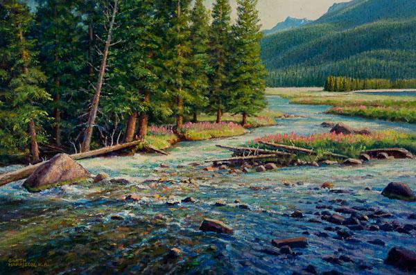 Clear Clean Water  by Garth Harrison  16 x 24