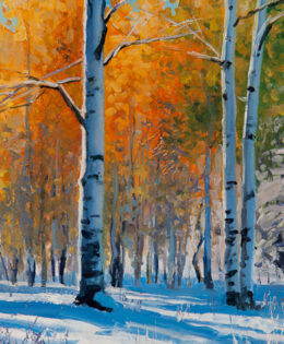 October Snow – Sold